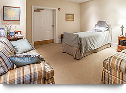 Family comfort room in Lititz, PA Funeral Home