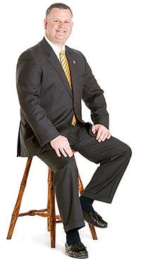 Lancaster Funeral Director Mark Burkholder