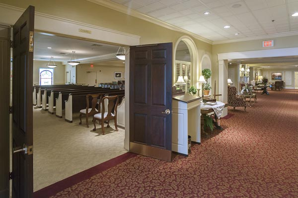 Lititz pa neffsville location charles snyder funeral home - Modern funeral home interior design ...