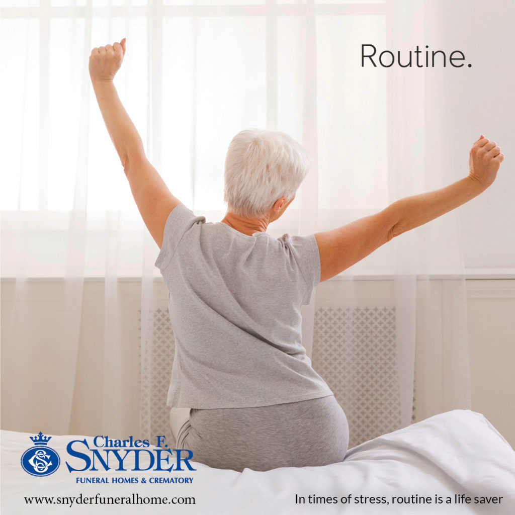 Routine is a Life Saver