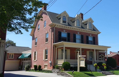 Funeral home location in Strasburg, PA
