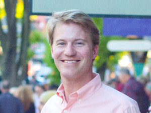Chad Snyder downtown