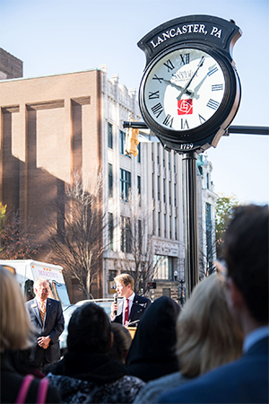 Lancaster, PA Clock