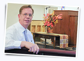 John Kenderdine at Bible Baptist Church